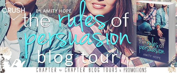 {Review+Giveaway} The Rules of Persuasion by @AmityHopeAuthor @EntangledPub @EntangledTeen