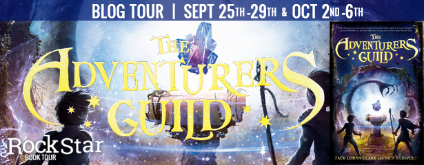 {Review+Giveaway} THE ADVENTURER'S GUILD by @ZackLoranClark & @NickEliopulos @DisneyHyperion