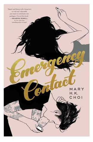 {Mini Review+Favorite Bitmojis+Giveaway} Emergency Contact by Mary H.K. Choi