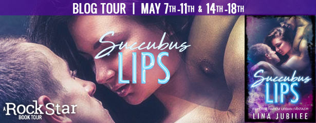 {Review+Giveaway} Succubus Lips by Lina Jubilee