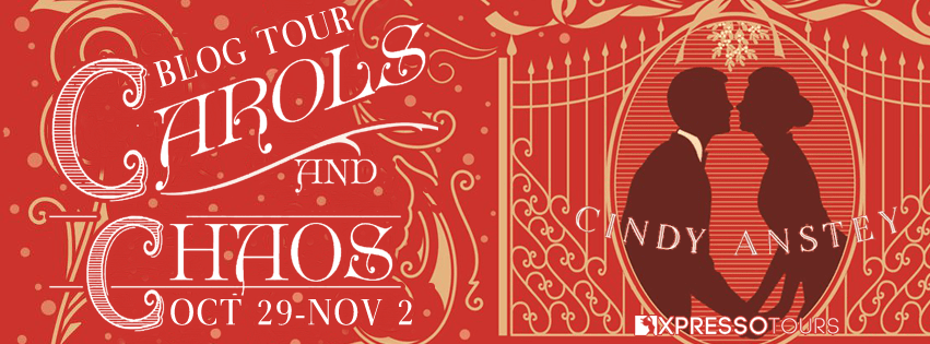 {Review+Giveaway} Carols and Chaos by Cindy Anstey