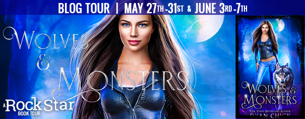 {Review+Giveaway} Wolves & Monsters by Dyan Chick