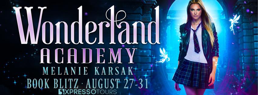 {Q&A+Guest Recipe+Giveaway} Wonderland Academy by @MelanieKarsak