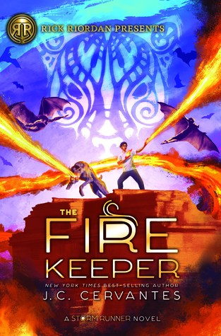 {Review+Giveaway} The Fire Keeper by J.C. Cervantes & Illustrations by Irvin Rodriguez