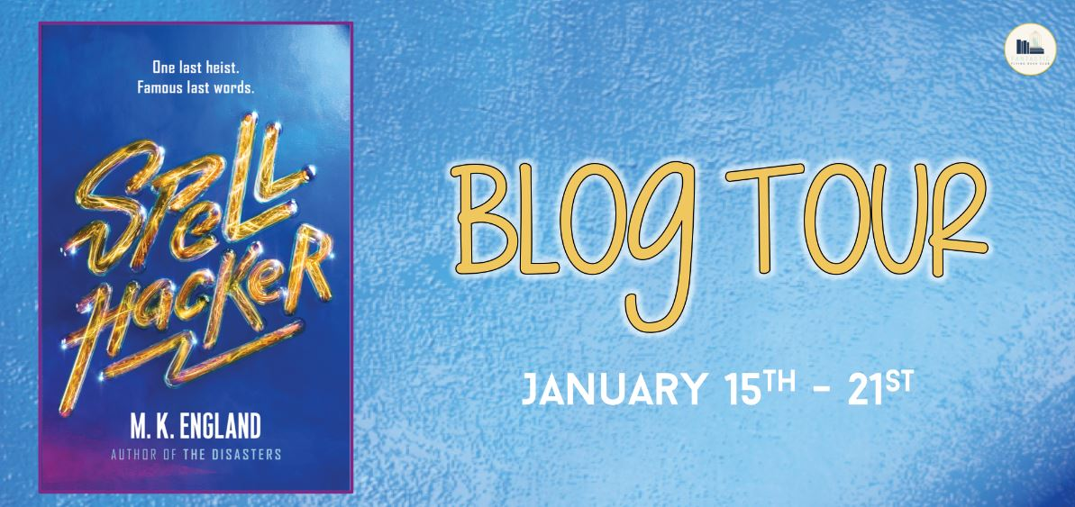 {ARC Review+Giveaway} Spellhacker by M.K. England