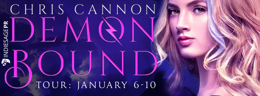 {Review+Giveaway} Demon Bound by Chris Cannon