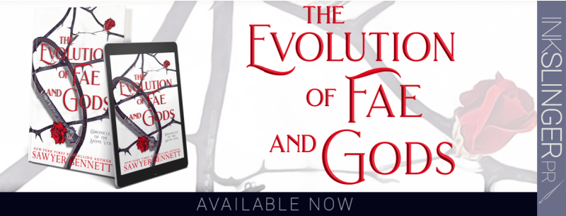 {Review} The Evolution of Fae and Gods by Sawyer Bennett @bennettbooks