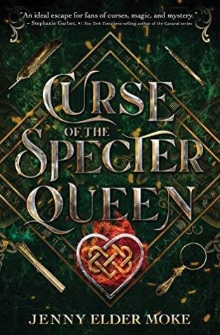 {Review+Giveaway} Curse of the Specter Queen by Jenny Elder Moke @jennyelder @DisneyBooks @LetsTalkYA @RockstarBkTours