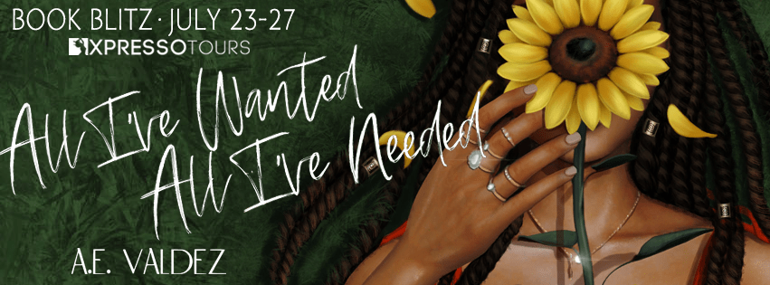 {Excerp+Giveaway} All I've Wanted All I've Needed by A.E. Valdez
