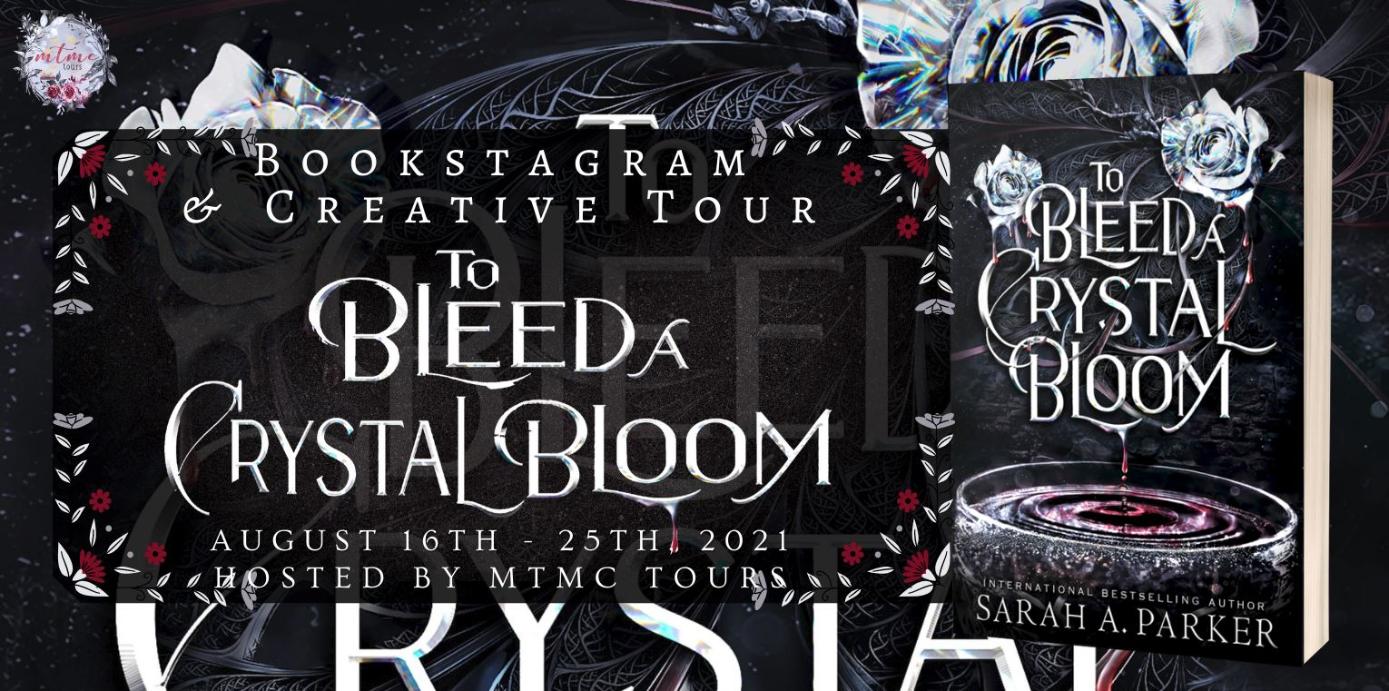 {Review+Giveaway} To Bleed a Crystal Bloom by Sarah A. Parker