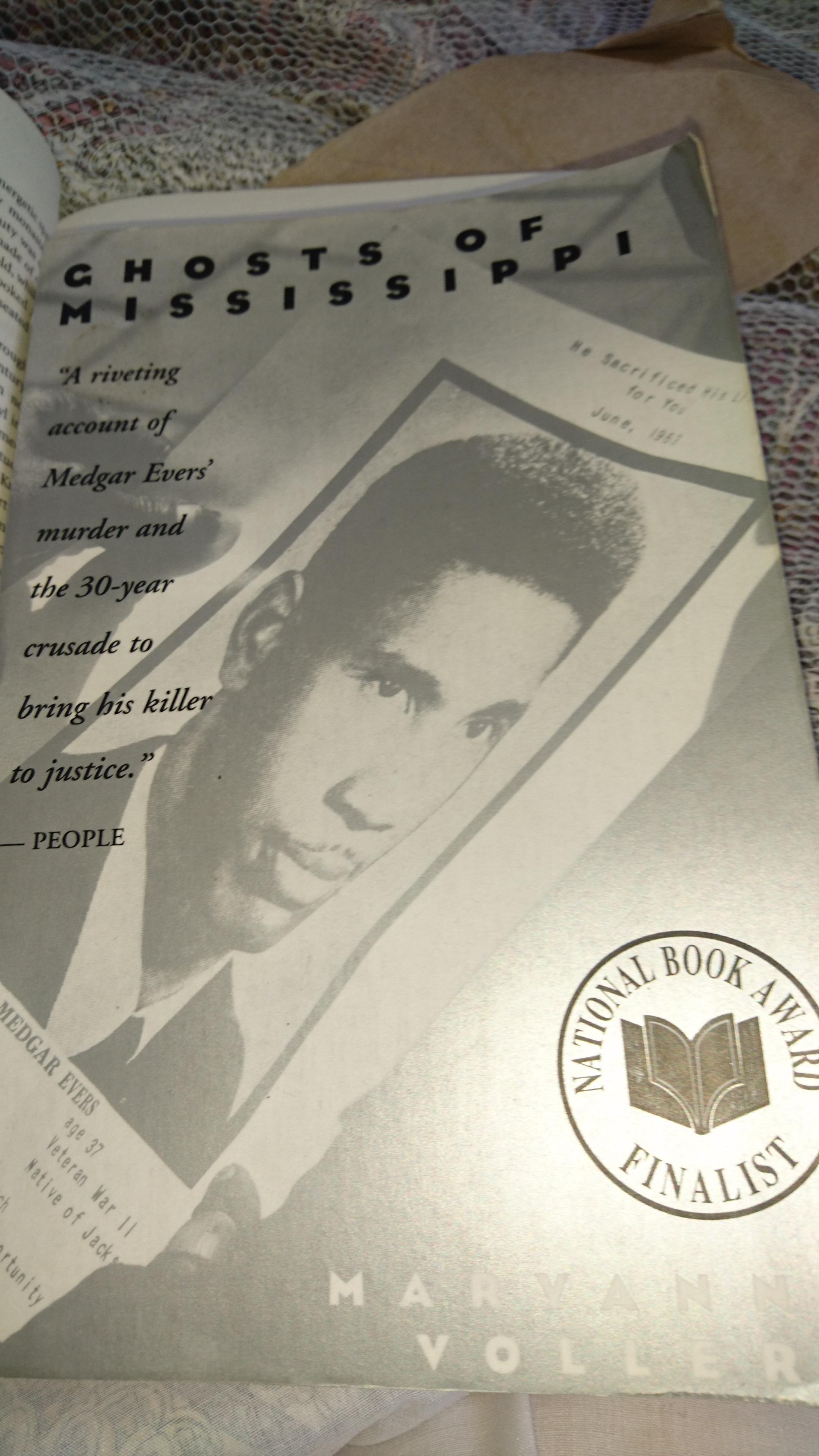 Ghosts Of Mississippi Book Klatsch
