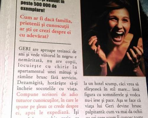 Mă sinucid altă dată, Kerstin Gier