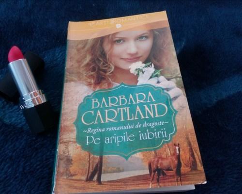 O carte romantică se termină prea repede: Pe aripile iubirii, Barbara Cartland – Lira/Litera