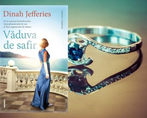 Văduva de safir, Dinah Jefferies – Recenzie