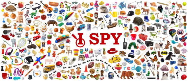I Spy Passive Program Poster
