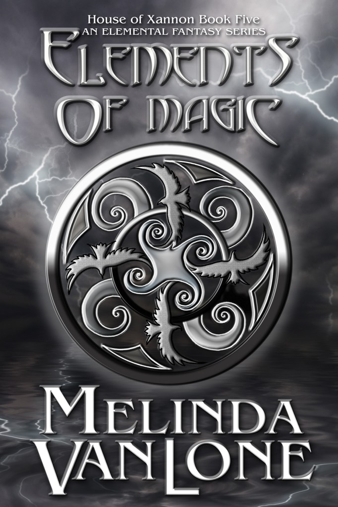Elements of Magic by Melinda Van Lone, cover by Book Cover Corner