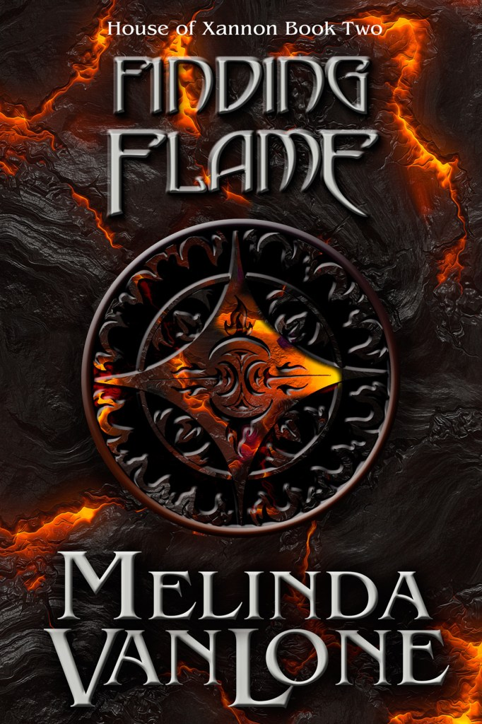 Finding Flame by Melinda Van Lone, cover by Book Cover Corner