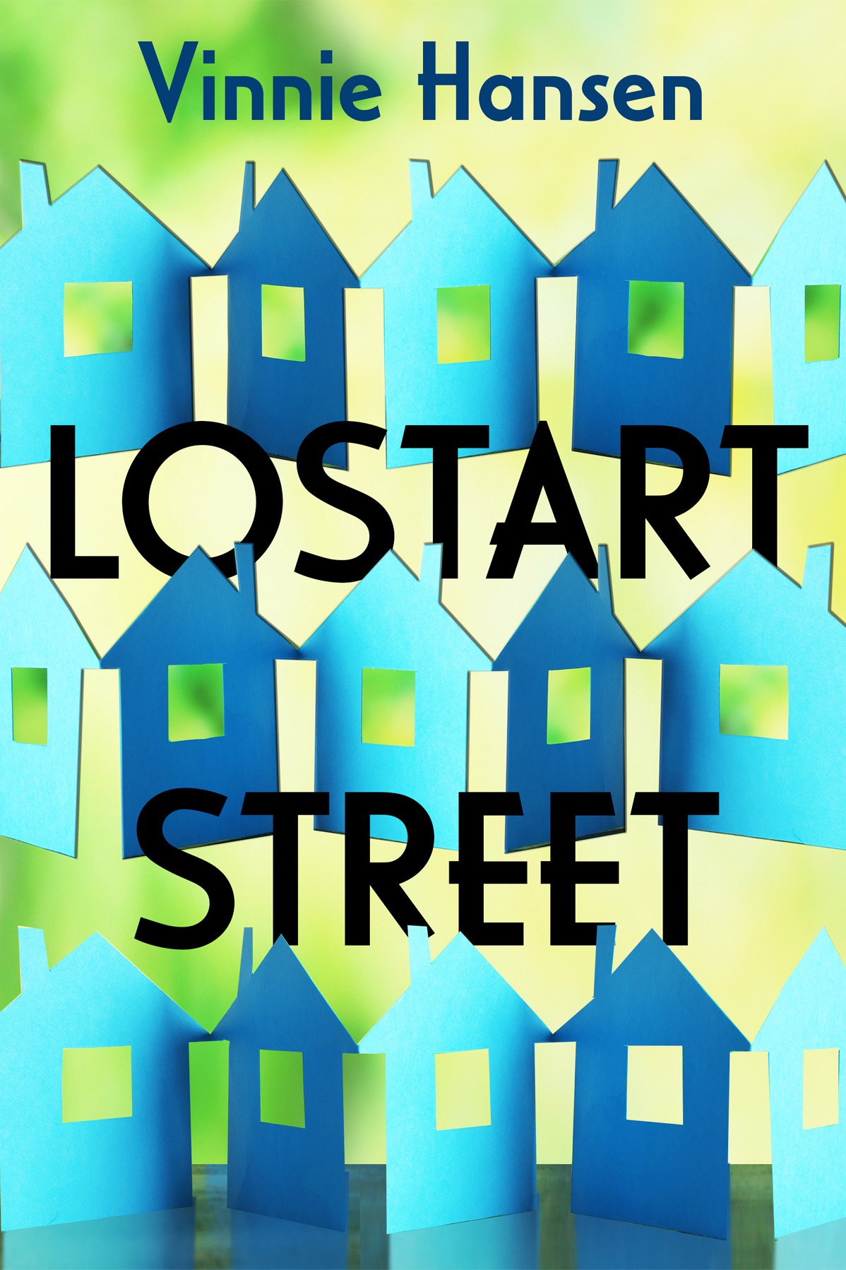 Lostart Street by Vinnie Hansen, cover by Book Cover Corner