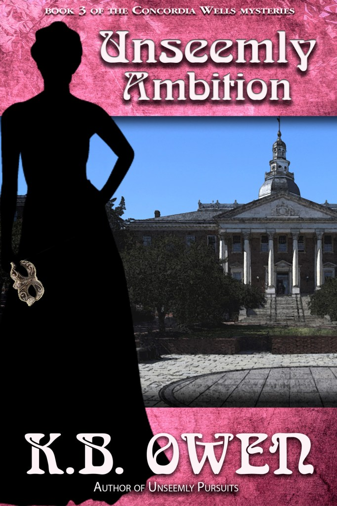 Unseemly Ambition by K.B. Owen, cover by Book Cover Corner