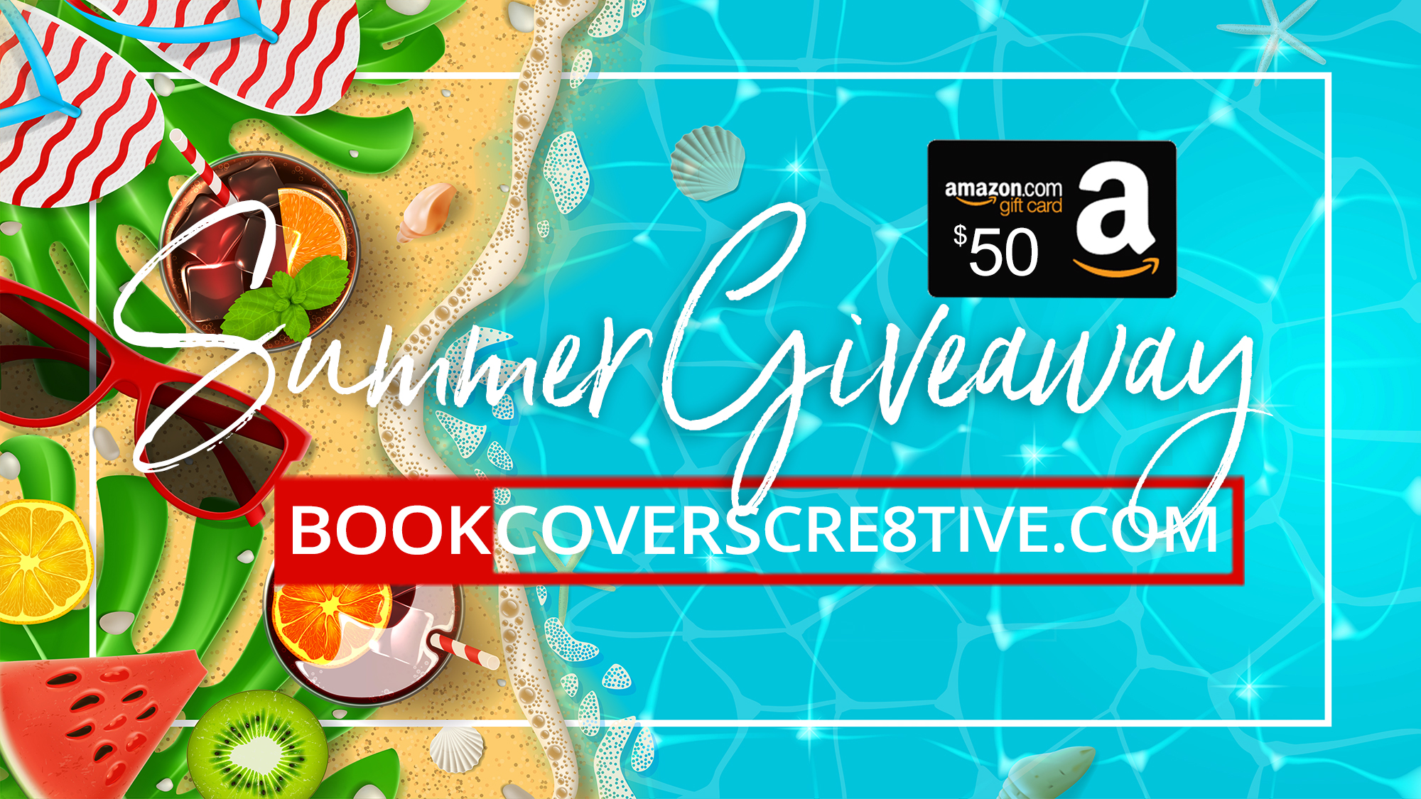 Bookcoverscre8tive Summer 2018 Giveaway | Bookcoverscre8tive