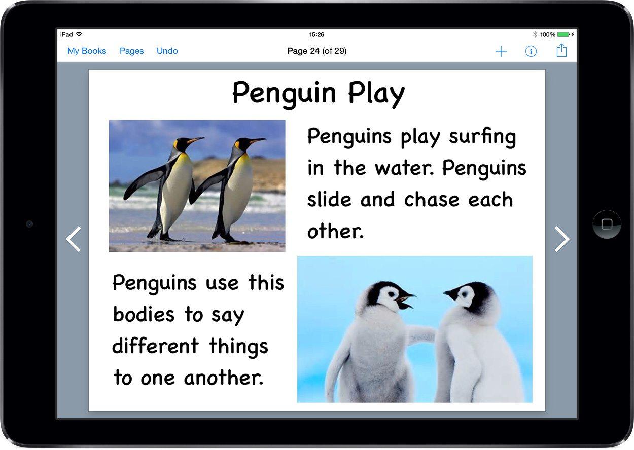 1st Graders Make Penguin Books