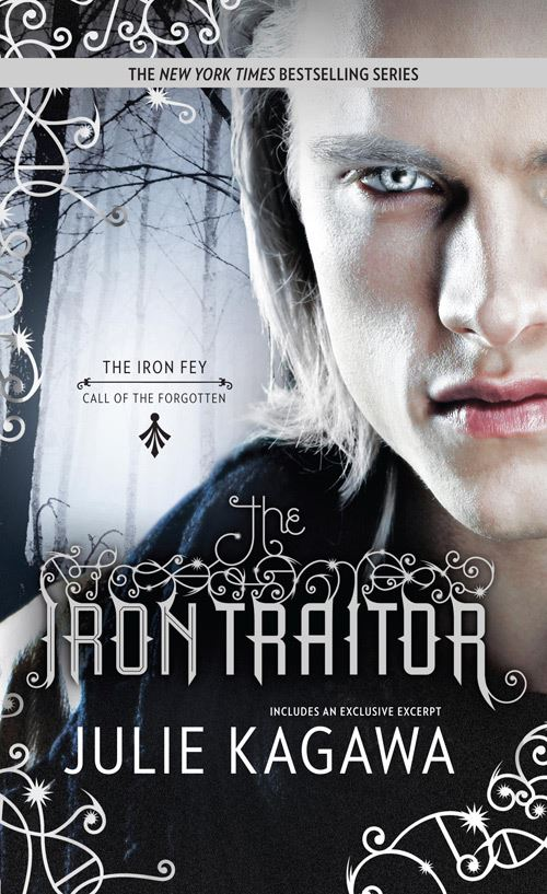 Cover Crush: The Iron Traitor by Julie Kagawa