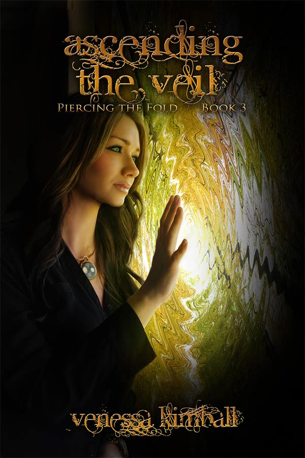 Cover Reveal: Ascending the Veil (Piercing the Fold #3) by Venessa Kimball