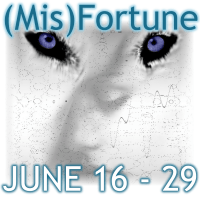 Blog Tour: Review (Mis)Fortune (Judgement of the Six #2) by Melissa Haag & Giveaway!