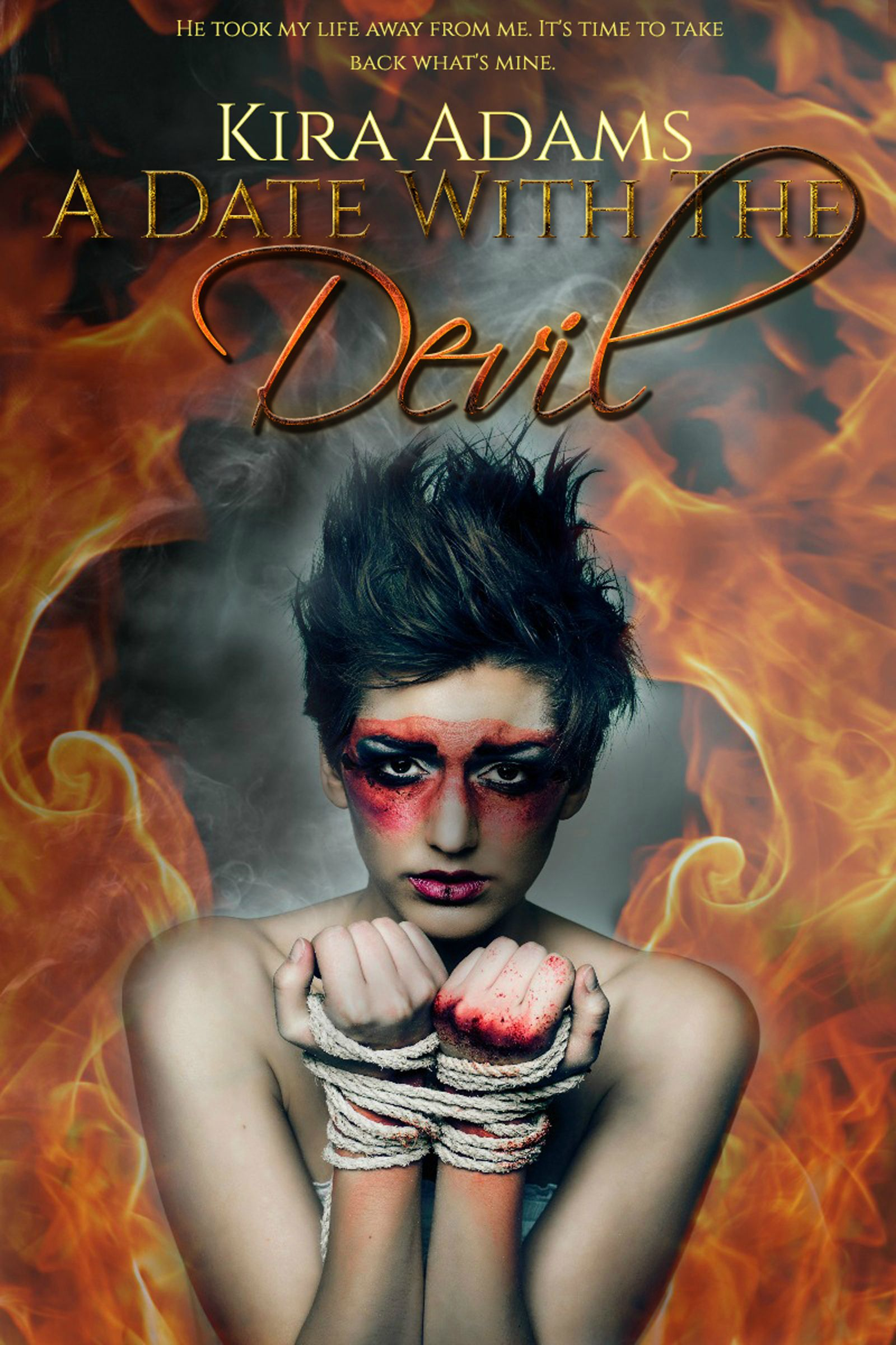 Cover Reveal & Giveaway: A Date with the Devil by Kira Adams