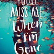 Cover Crush: You'll Miss Me When I'm Gone by Rachel Lynn Solomon