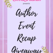 Feature: 3 Weeks, 5 Author Events – Recap & Giveaway