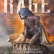 Cover Crush: Rage (Stormheart #2) by Cora Carmack