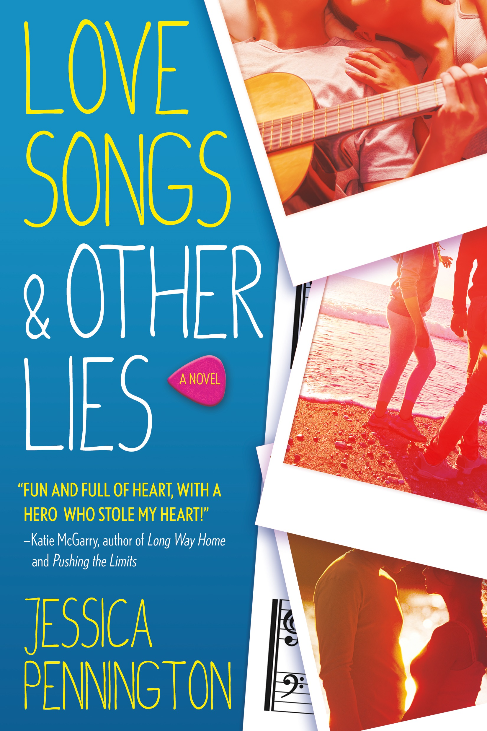 Blog Tour, Review & Giveaway: Love Songs & Other Lies by Jessica Pennington