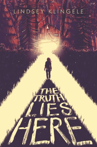 Cover Crush: The Truth Lies Here by Lindsey Klingele