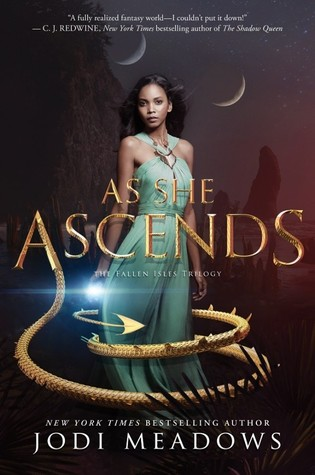 Blog Tour, Feature, & Giveaway: Styled by The Fallen Isles (As She Ascends)