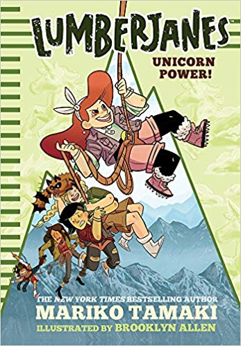 Book Rewind Review: Lumberjanes: Unicorn Power!