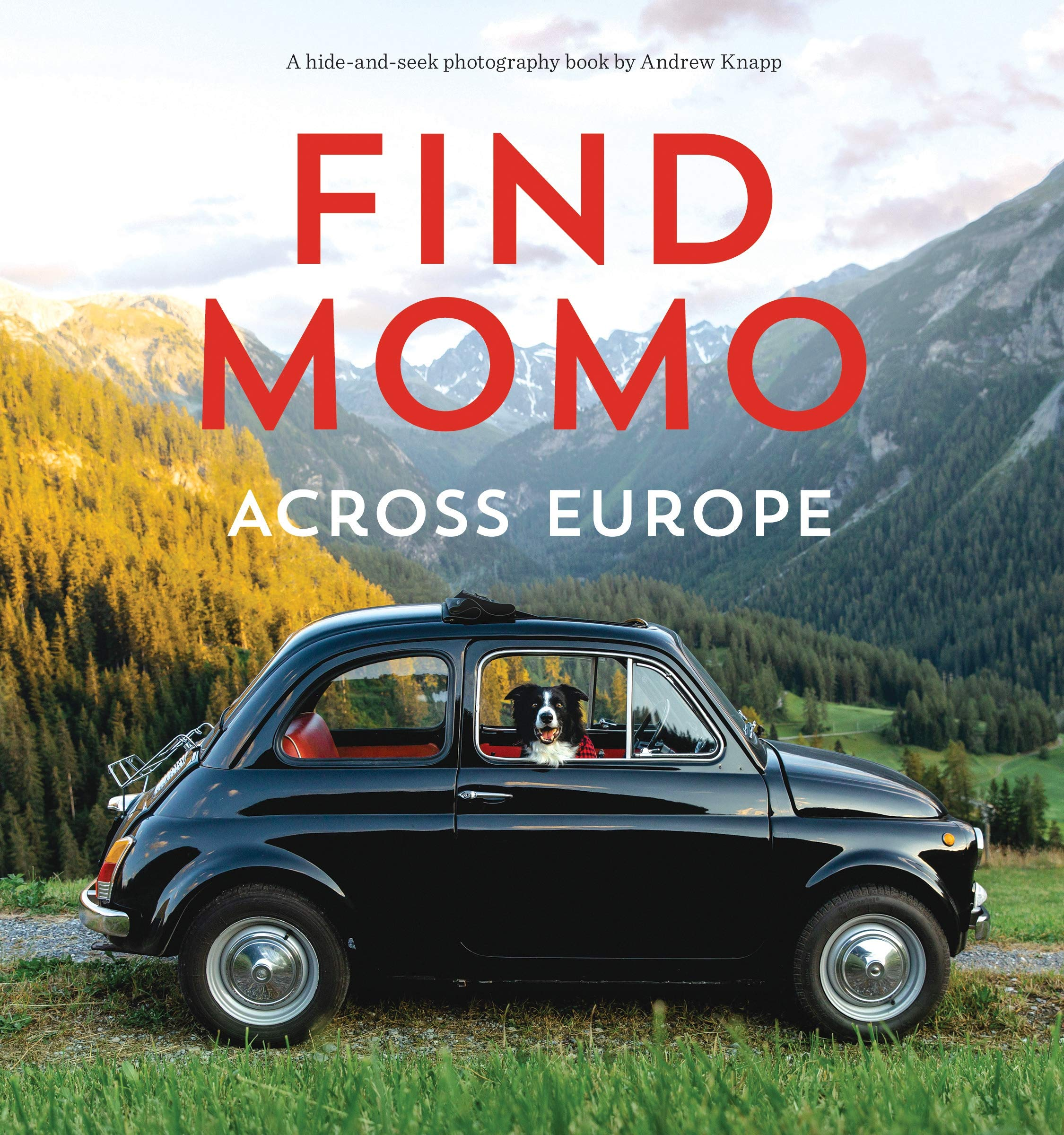 Find Momo across Europe: Another Hide and Seek Photography Book