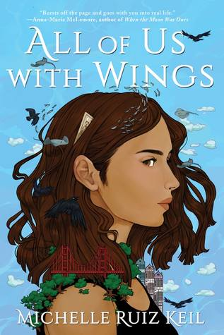 Cover Crush: All of Us with Wings by Michelle Ruiz Keil