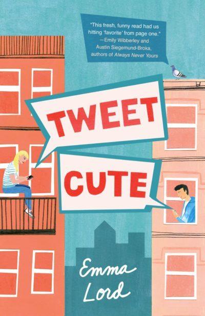 Cover Crush: Tweet Cute by Emma Lord