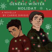 Cover Reveal & Giveaway: A Very Broody Generic Winter Holiday Novella by Carrie DiRisio