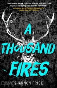 Audiobook Review & Event Recap: A Thousand Fires by Shannon Price
