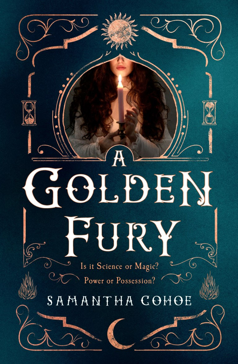 Cover Crush & Giveaway: A Golden Fury by Samantha Cohoe
