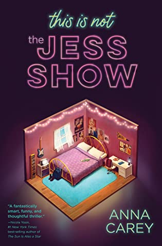 Author Interview: This is Not the Jess Show by Anna Carey