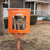Feature: Christy's Little Free Library