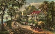 N_WoodlandPlantationPlaqueminesParish_CurrierIves_1871_e