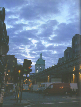 London at Dawn by Anthony Epes 1