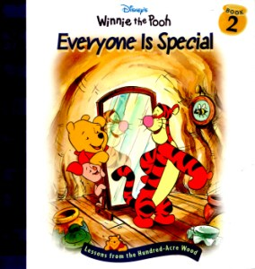 Winnie the Pooh - Everyone is Special by Nancy Parent (Based on stories by A.A.Milne) 2