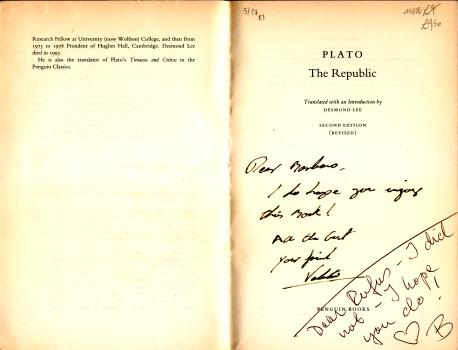 The Republic by Plato 3
