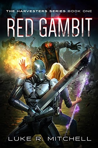 Red Gambit: A Paranormal Sci-fi Adventure (The Harvesters Series Book 1)