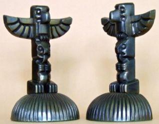 Photo of Cygnus Totem Pole Bookends